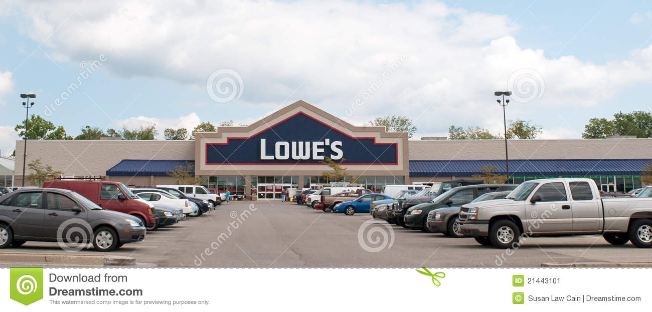 Lowe U0026 39 S Home Improvement Center Editorial Photo