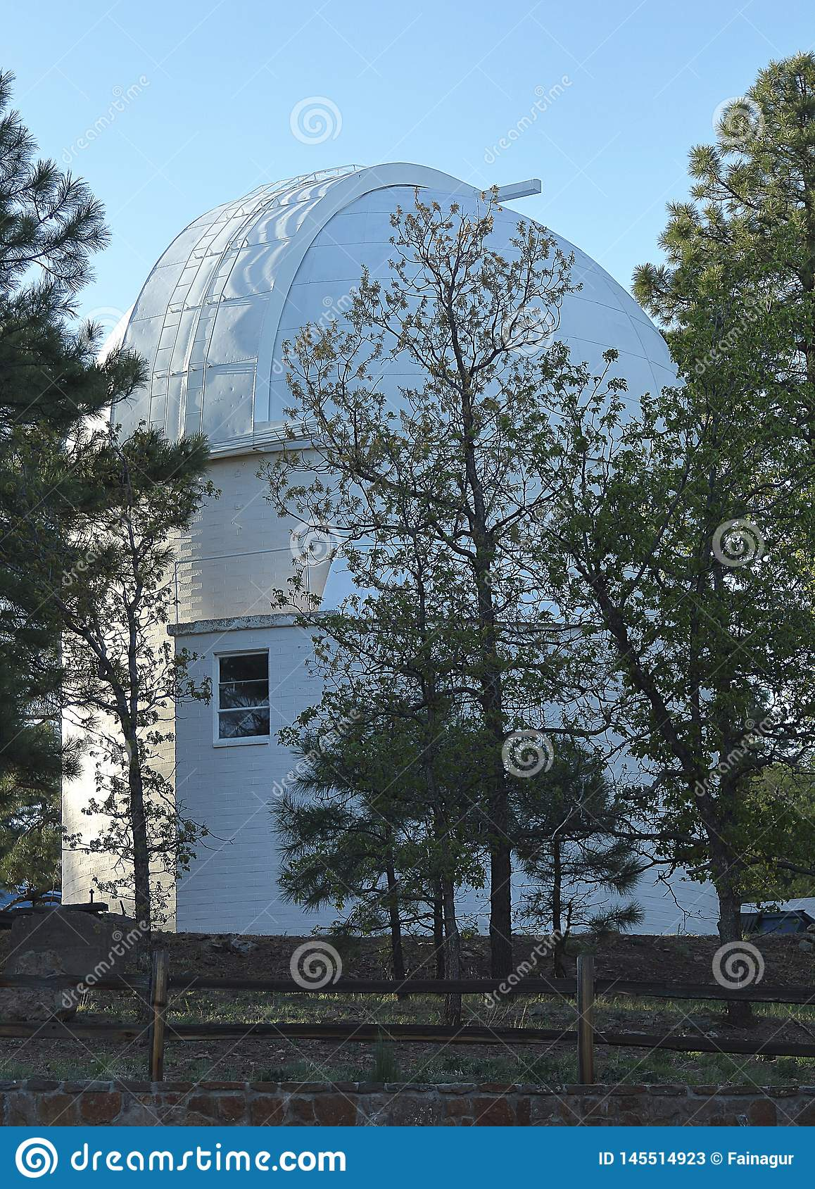 Lowell Observatory on Mars Hill in Flagstaff.