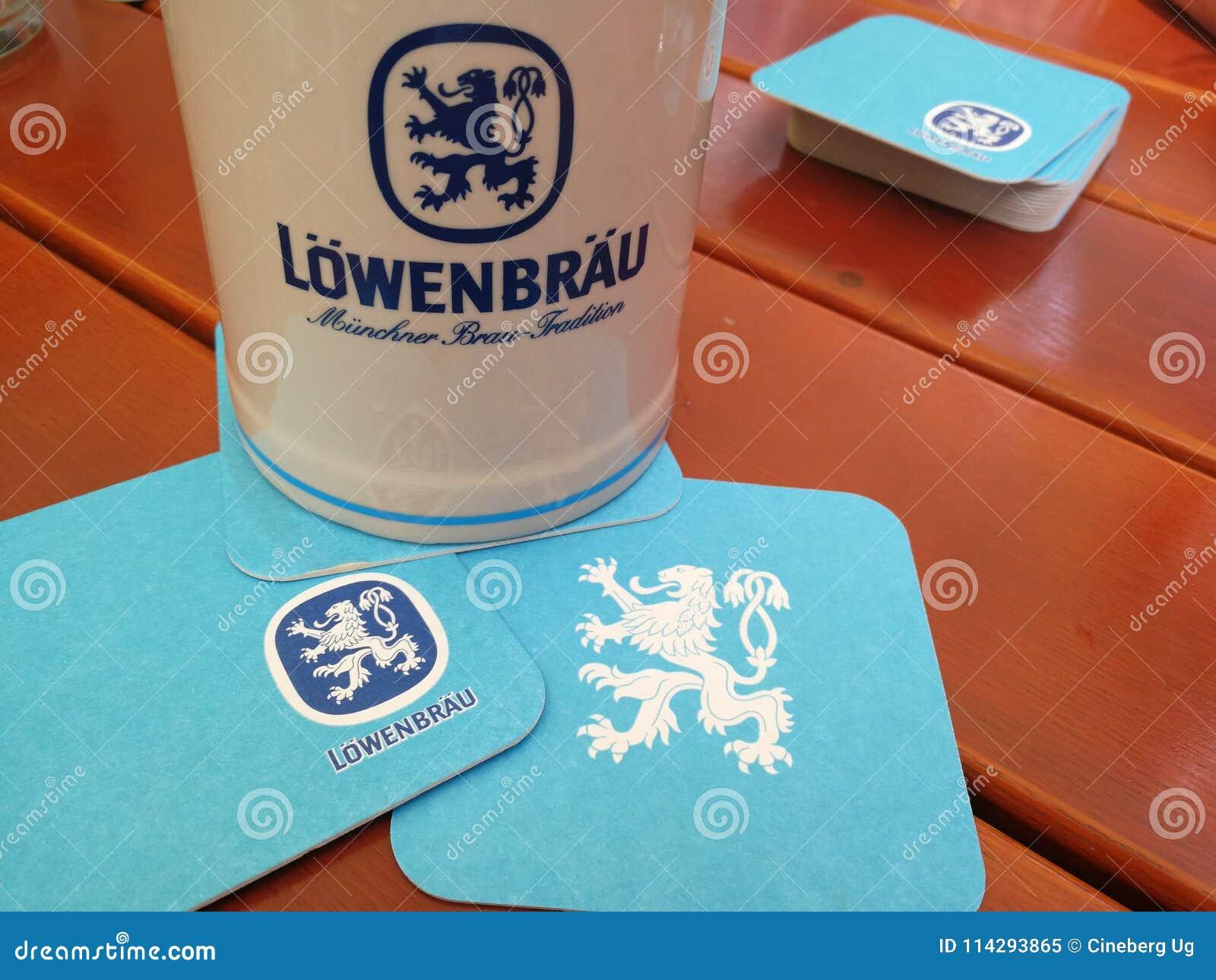 Lowenbrau-Bierbierkrug