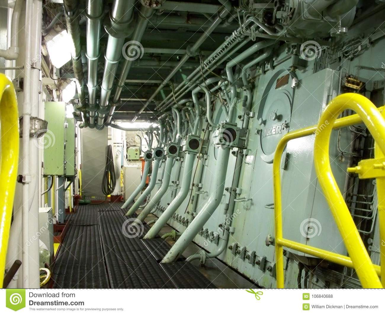 Lower level of Sulzer RND editorial stock photo  Image of