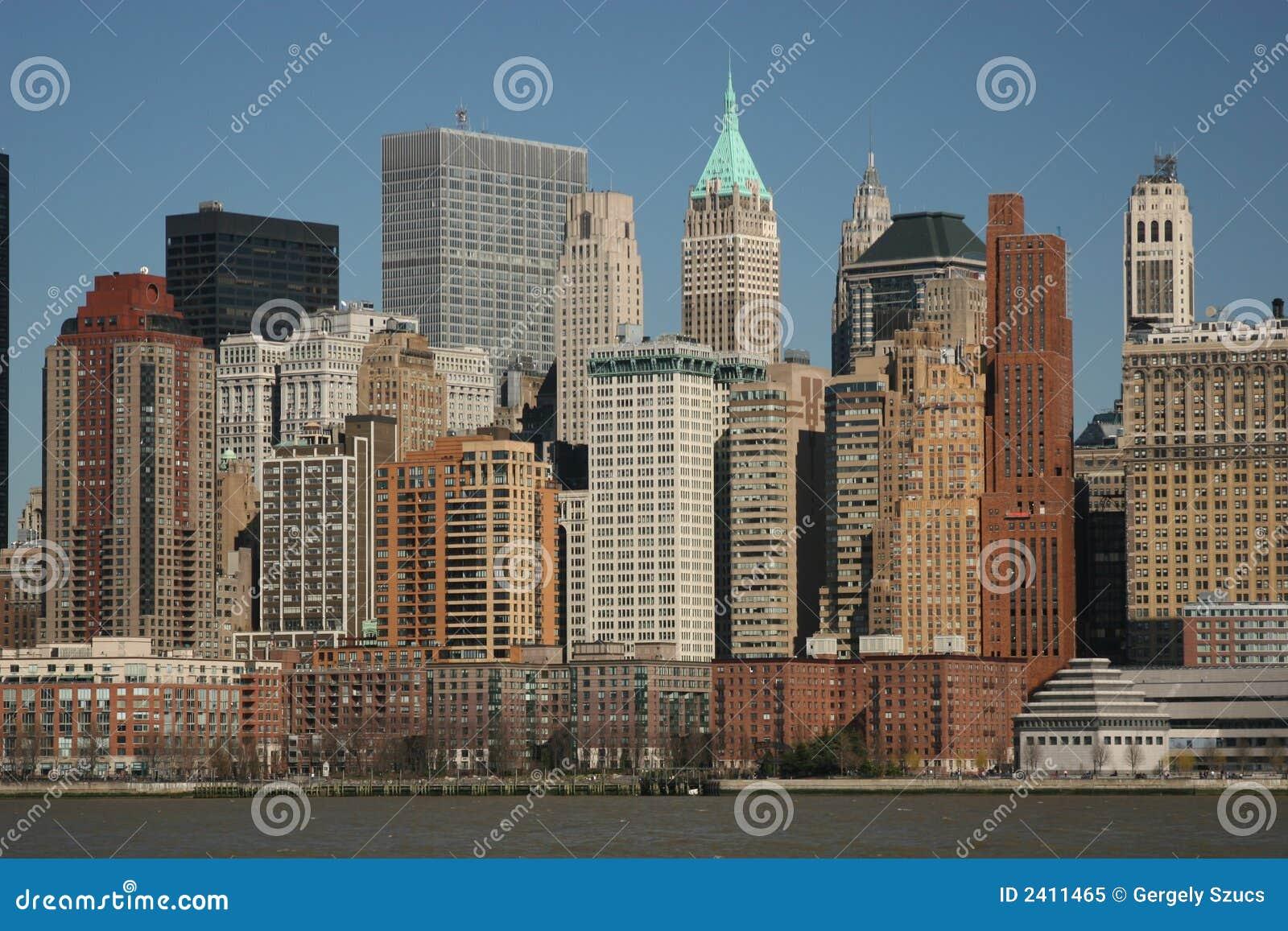 Lower Manhattan da acqua