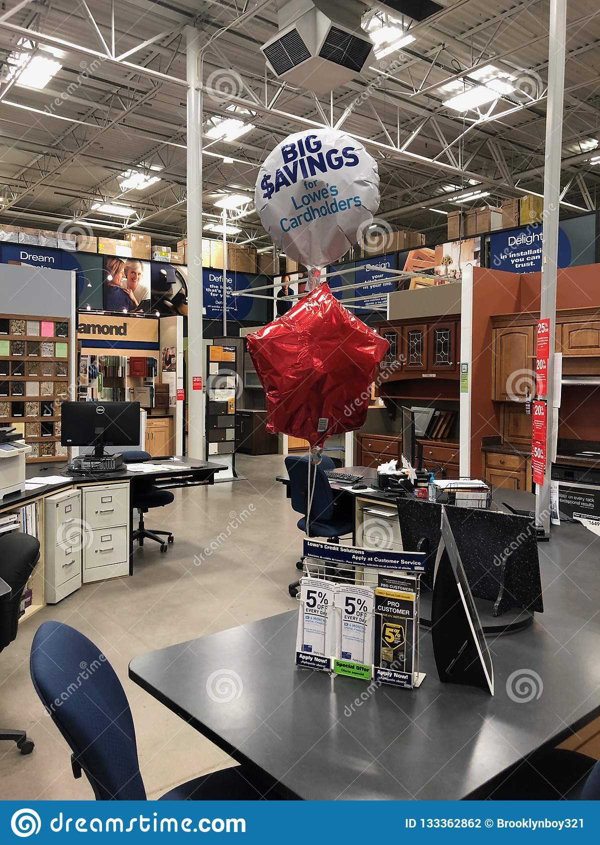 Lowes Home Improvement Store Editorial Photography Image Of