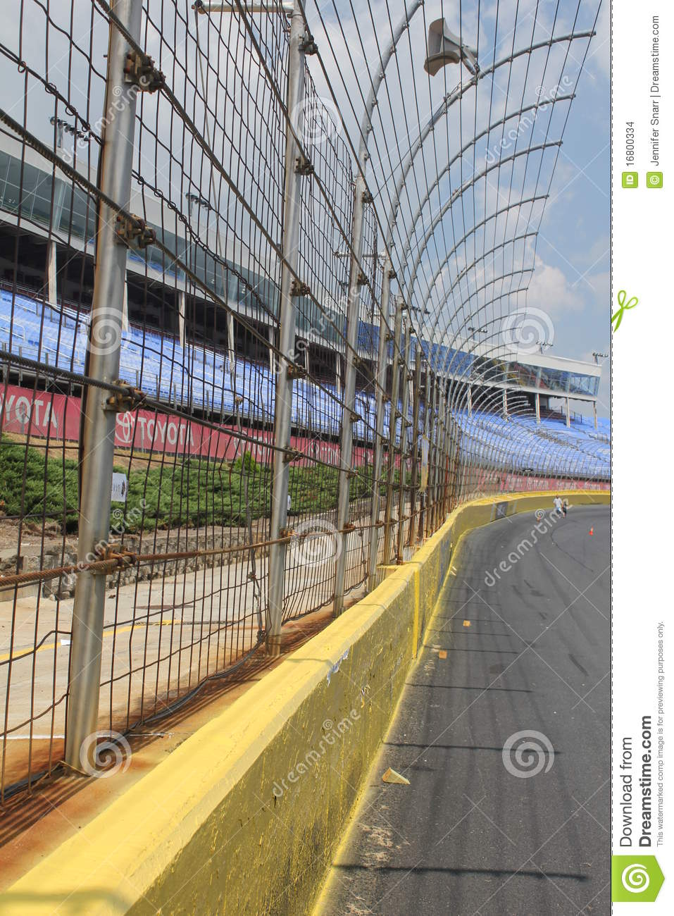 Lowes motor speedway racetrack editorial stock image for Lowe s motor speedway