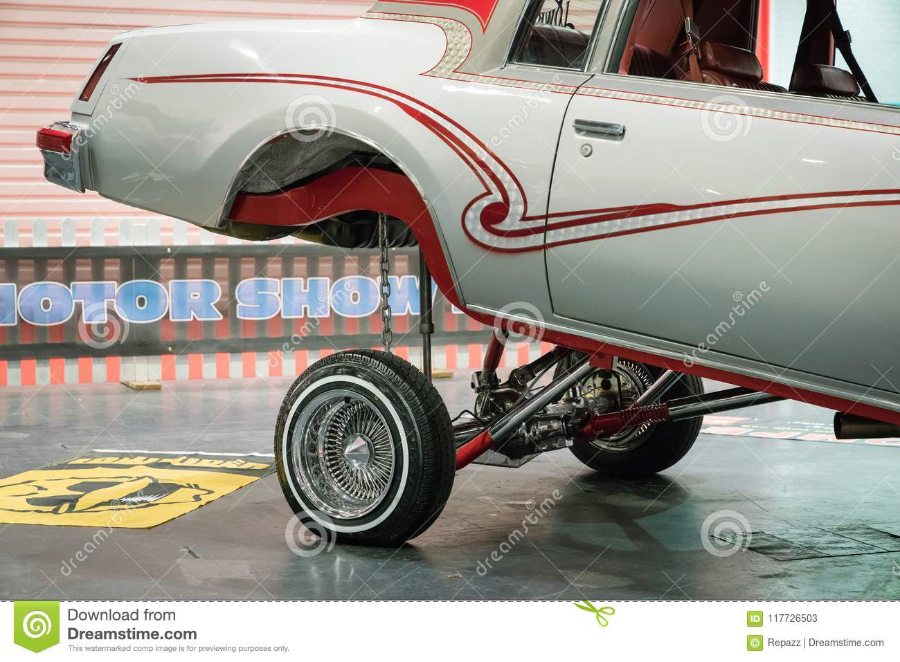 Lowrider Buick Car In The Event In London Editorial Stock Photo - Lowrider car show 2018