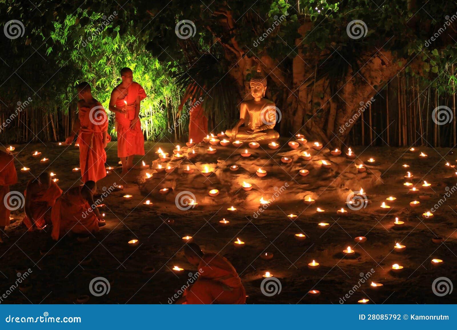 Loy Kratong Festival, buddhistisch