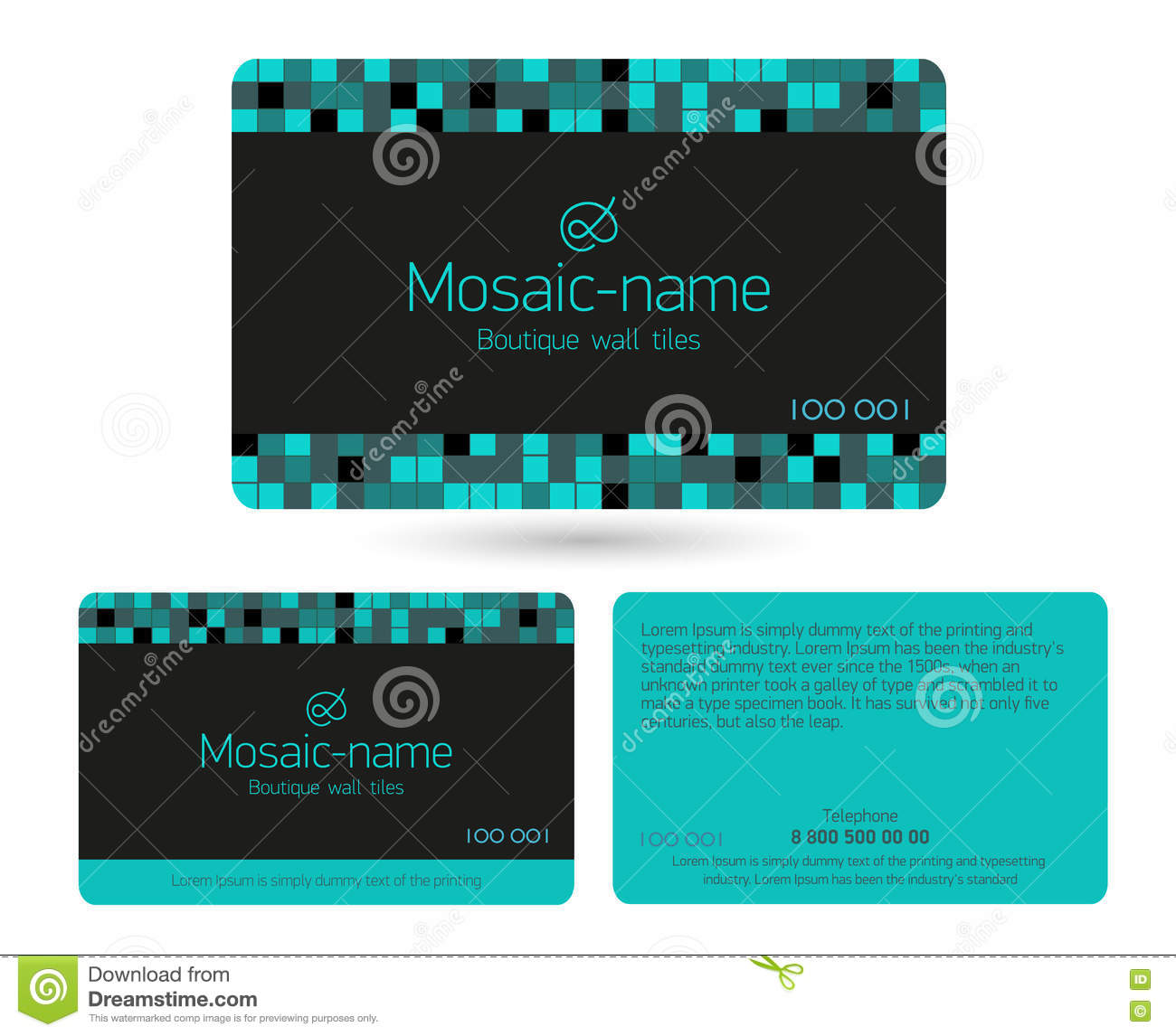 Loyalty Card Design Template Stock Vector Illustration Of Purchase - Free loyalty card template download