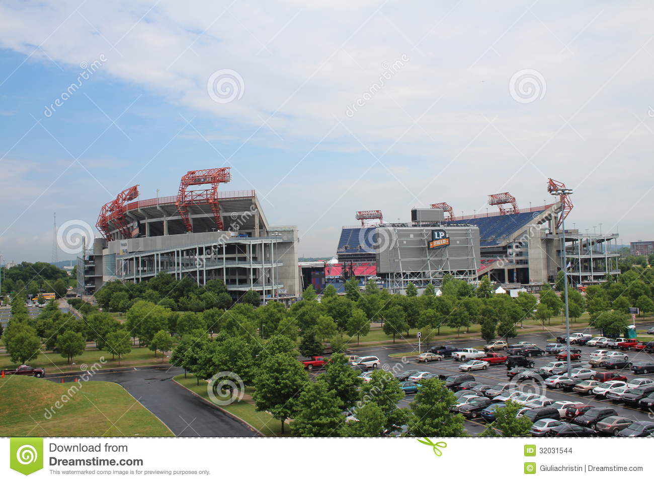 Nashville (IN) United States  city images : LP Field Football Stadium In Nashville Editorial Stock Image Image ...