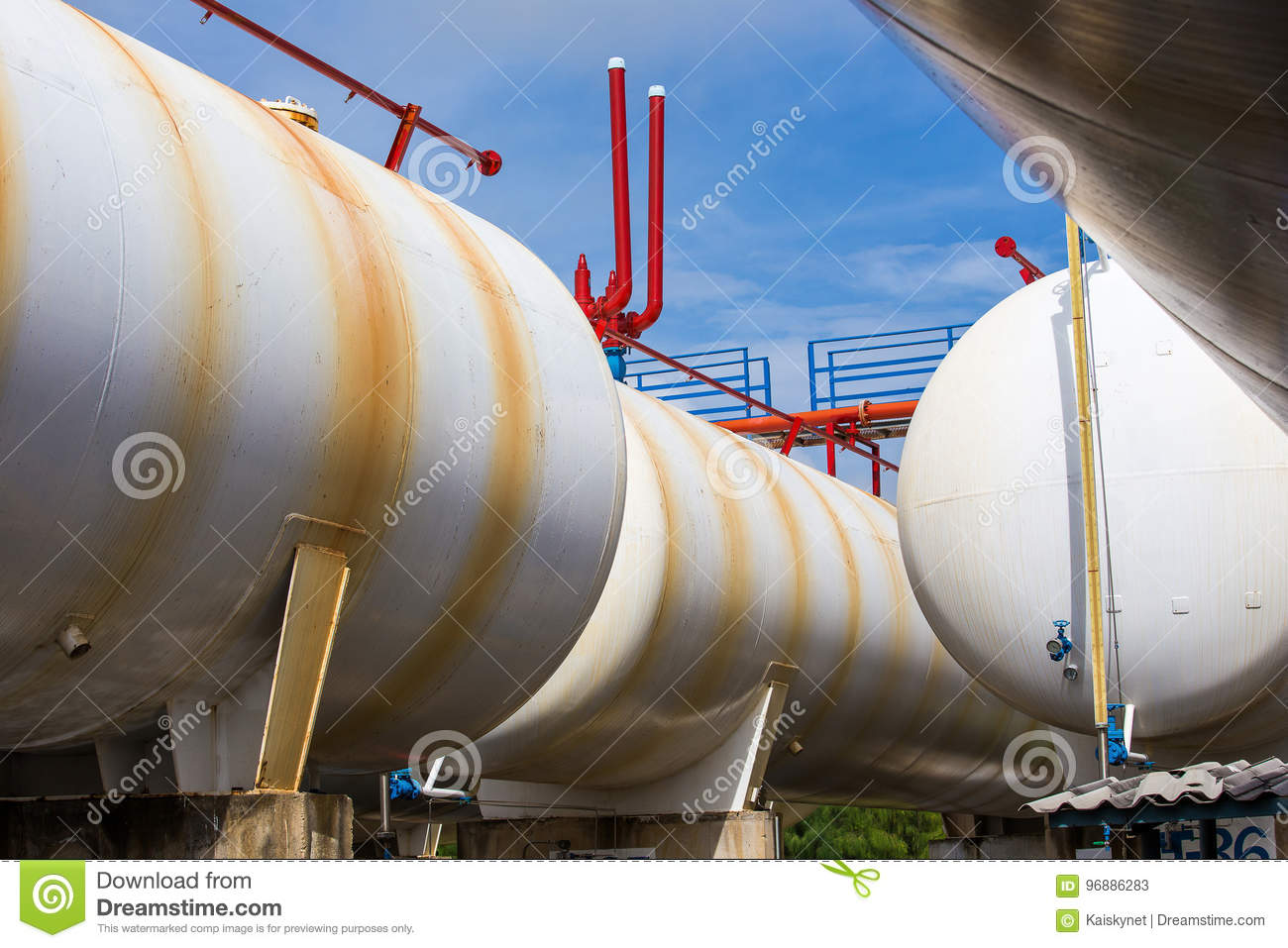 LPG Gas Industrial Storage Sphere Tanks And Pressure Safety