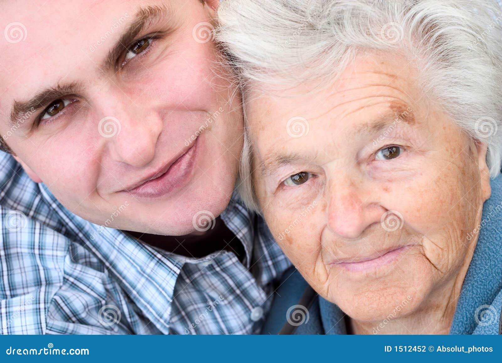 Junger mann sucht ältere frauen