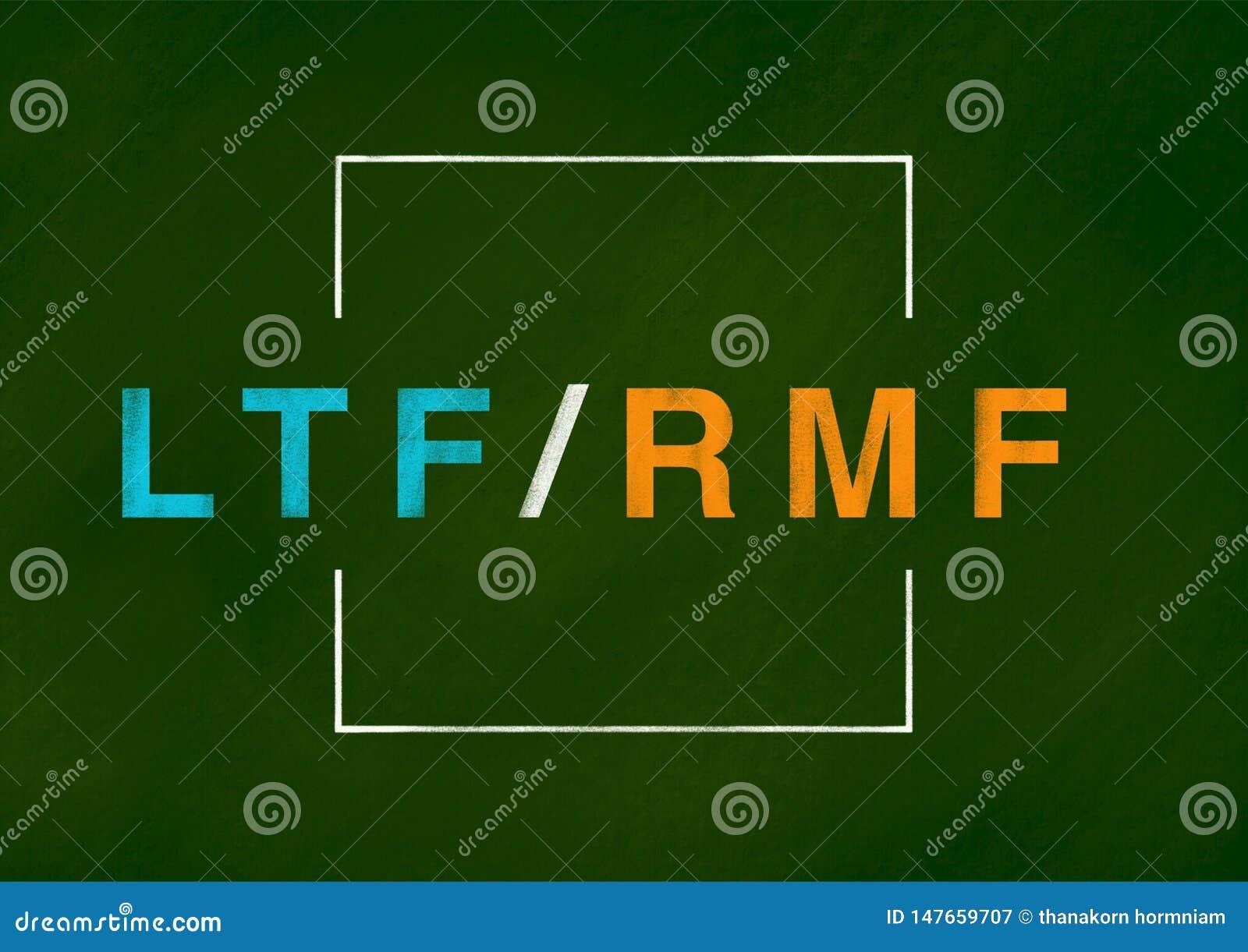 LTF- och RMF-bakgrundsbegrepp