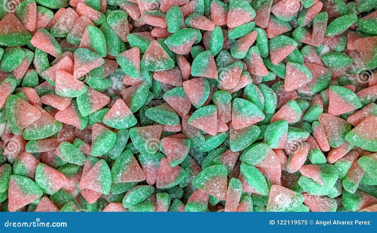 Luźny barwiony cukierek
