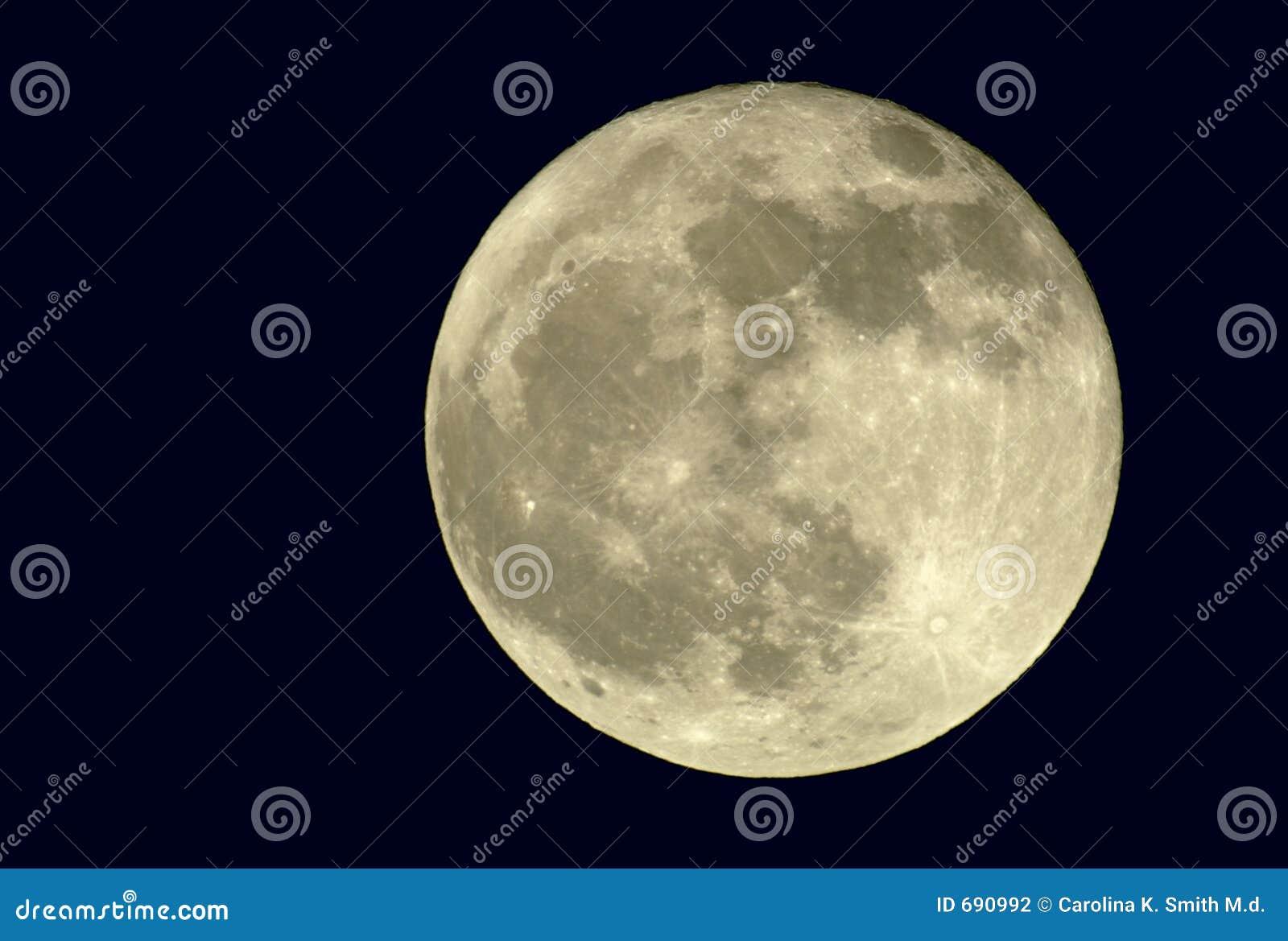 Lua cheia verdadeira de 2400mm