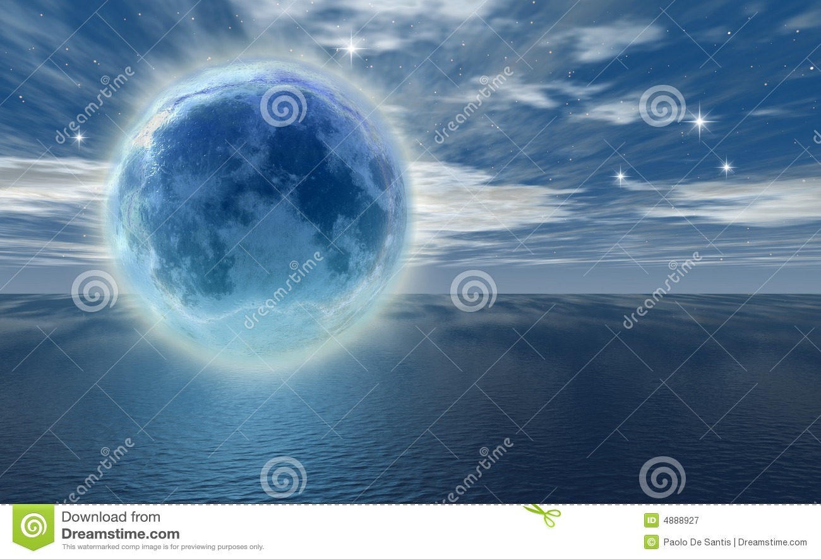 Lua congelada