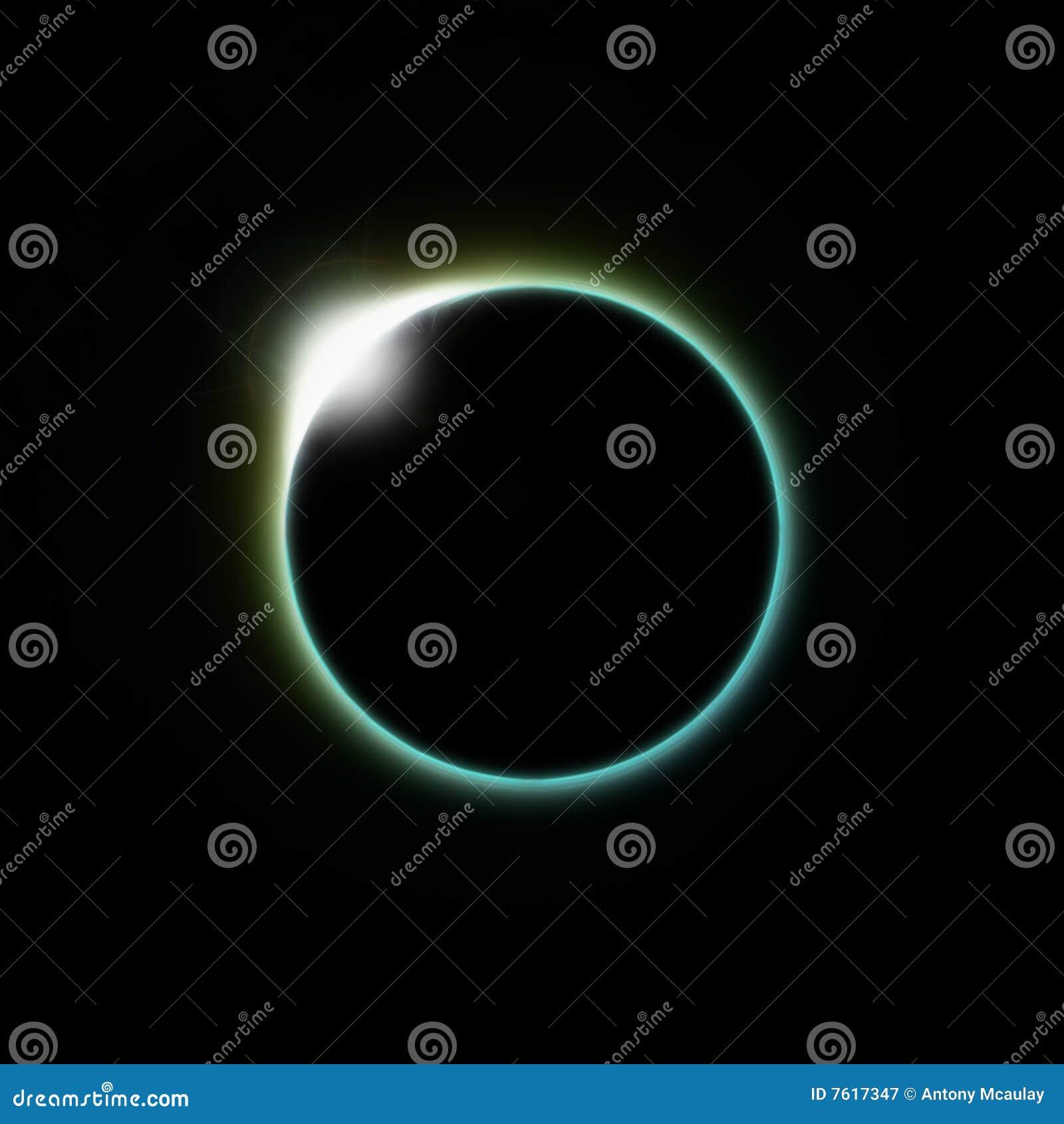 Lua do eclipse solar