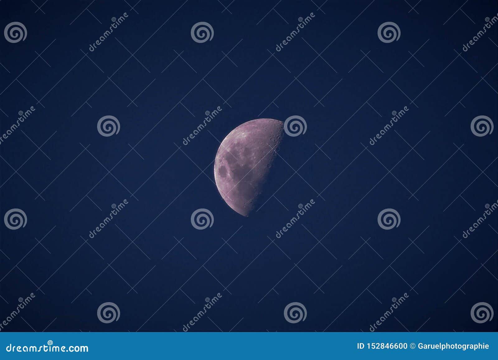 Lua na noite de Maurícias