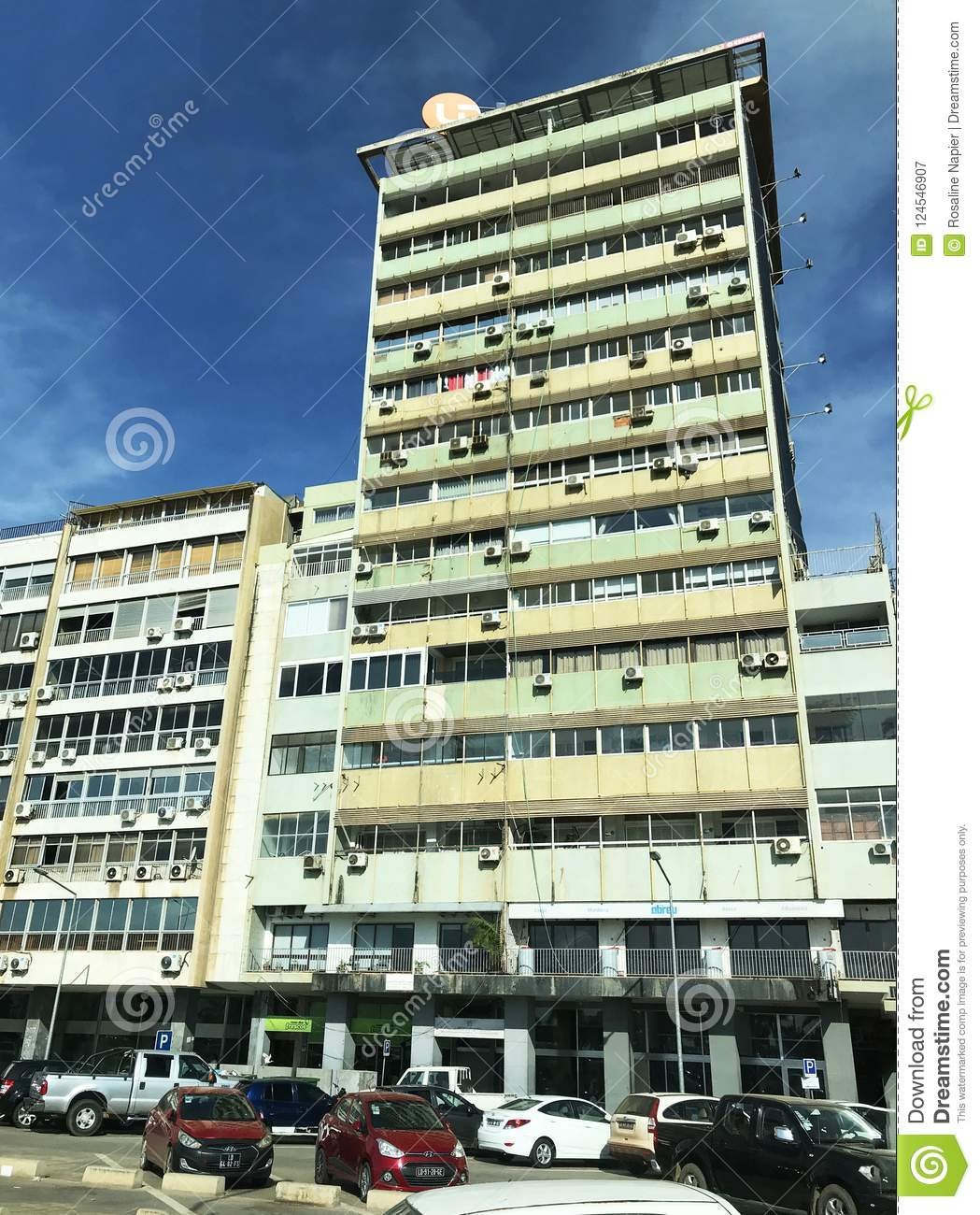 Downtown Luanda high rise building