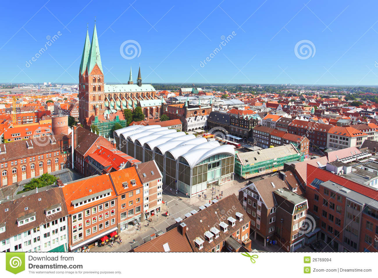 Lubeck stock images image 26769094 - Cone de lubeck ...