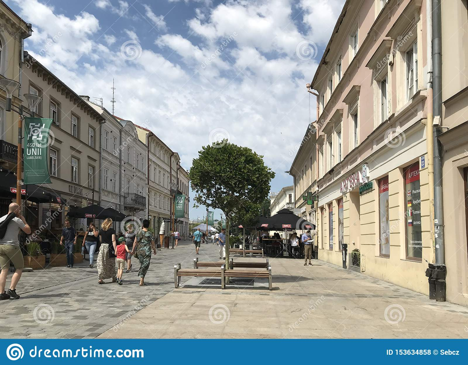 Lublin, Πολωνία: Τα παλαιά πόλης ιστορικά κτήρια
