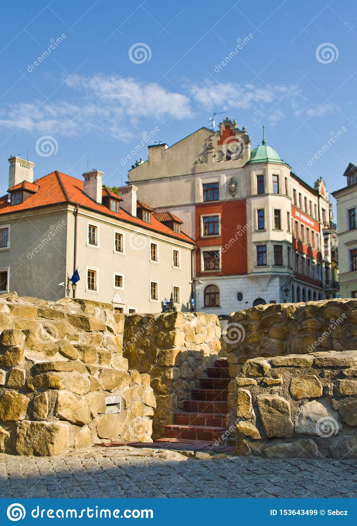 Lublin, Polonia: Cuadrado anterior de Fara