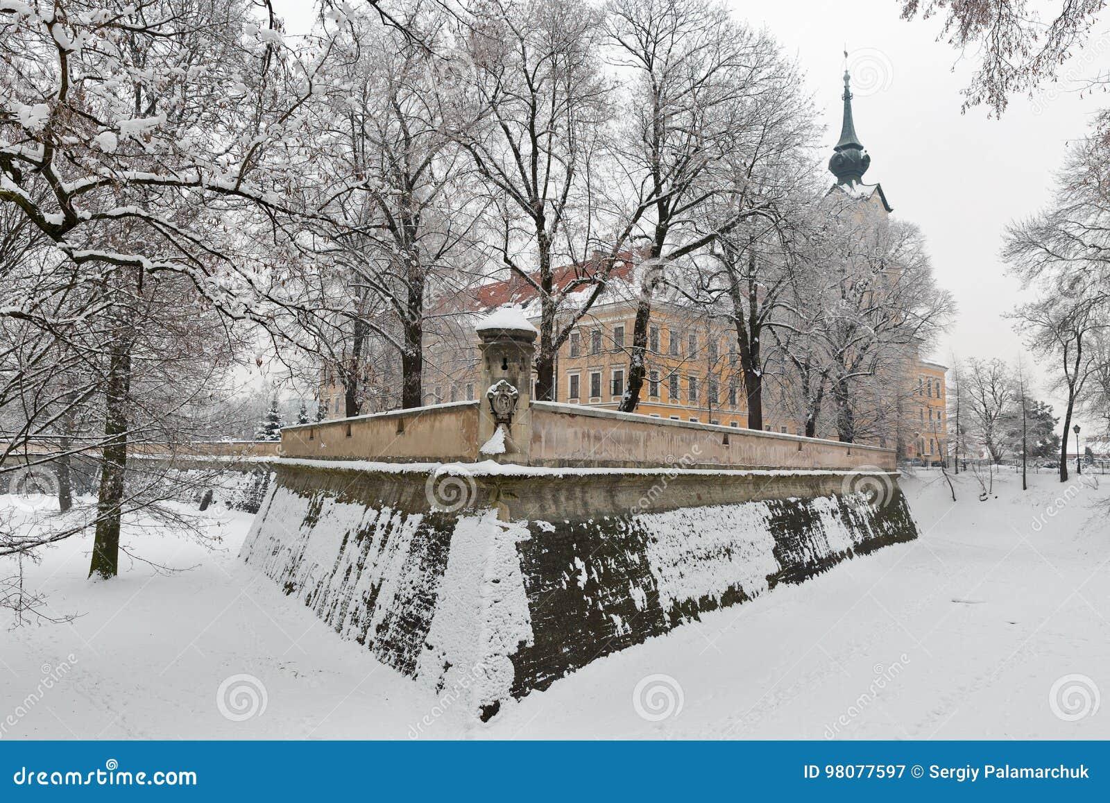 Lubomirski城堡在Rzeszow,波兰