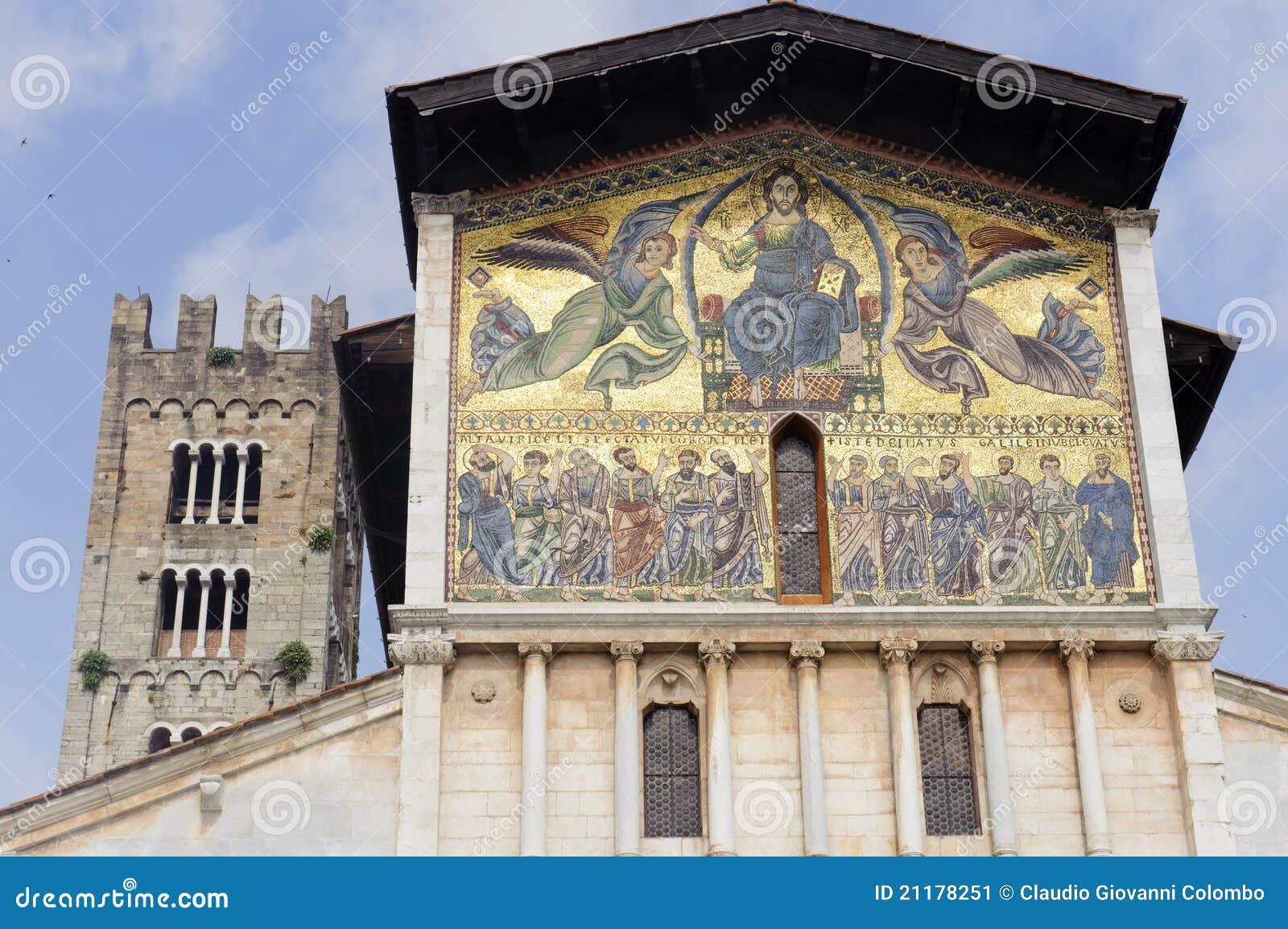 Lucca, San Frediano church