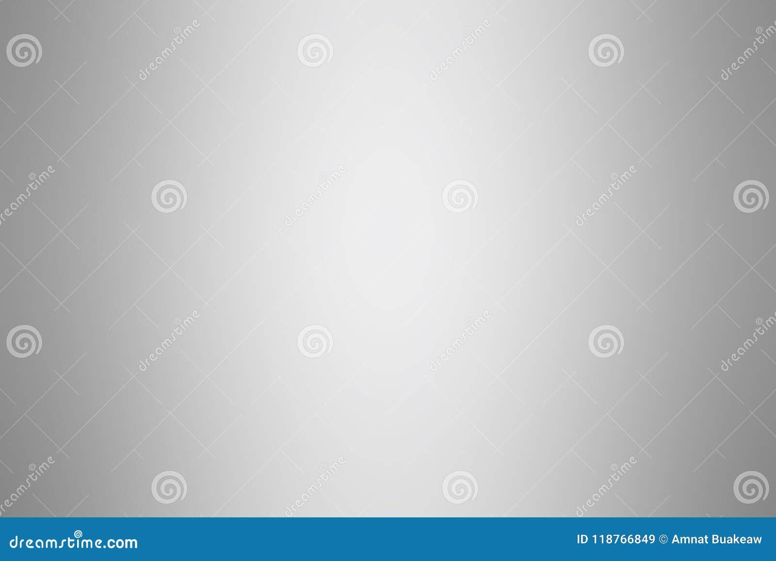 Luce morbida d argento grigia di colore del fondo di pendenza, carta da parati luminosa molle grigia bella, tonalità grigia di pe