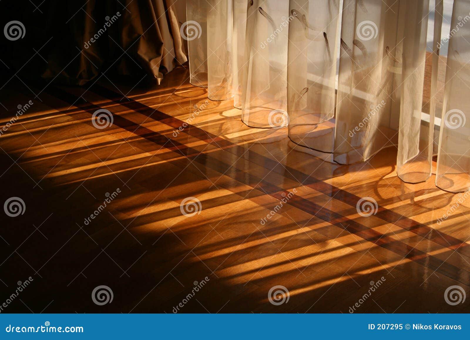 Luce solare tramite le tende