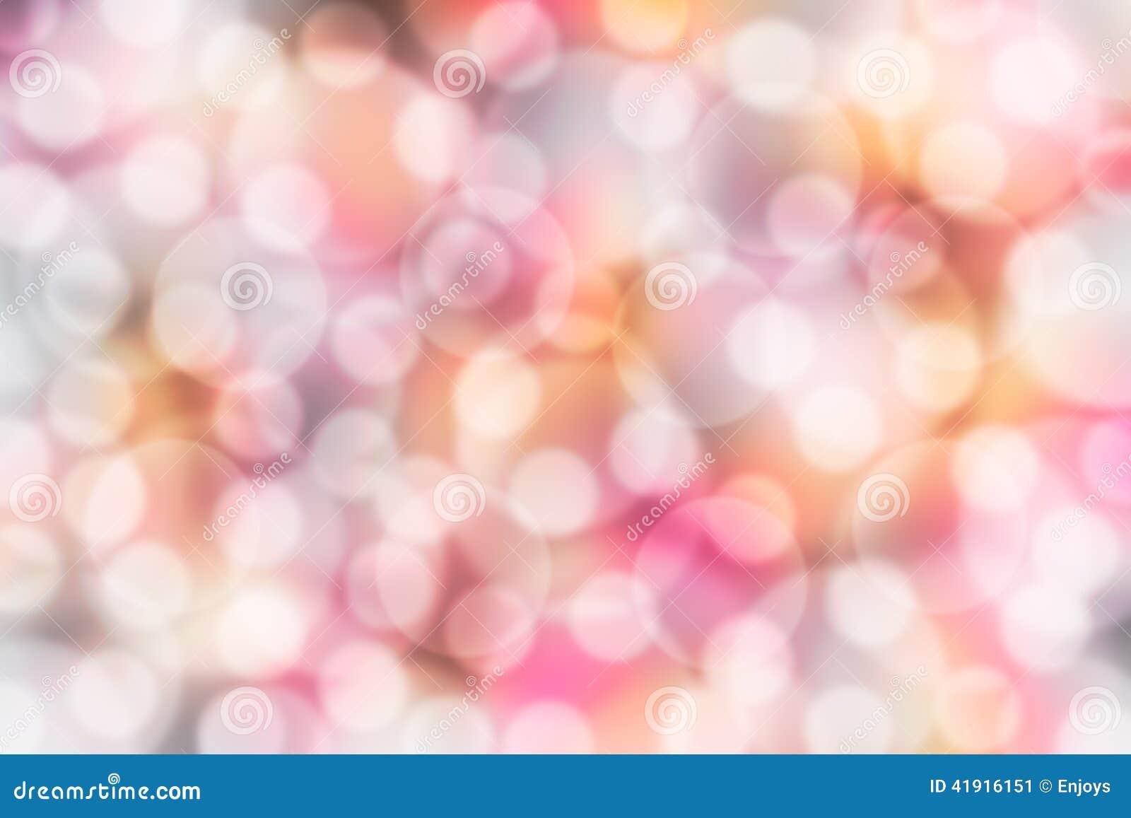 Luces borrosas del bokeh