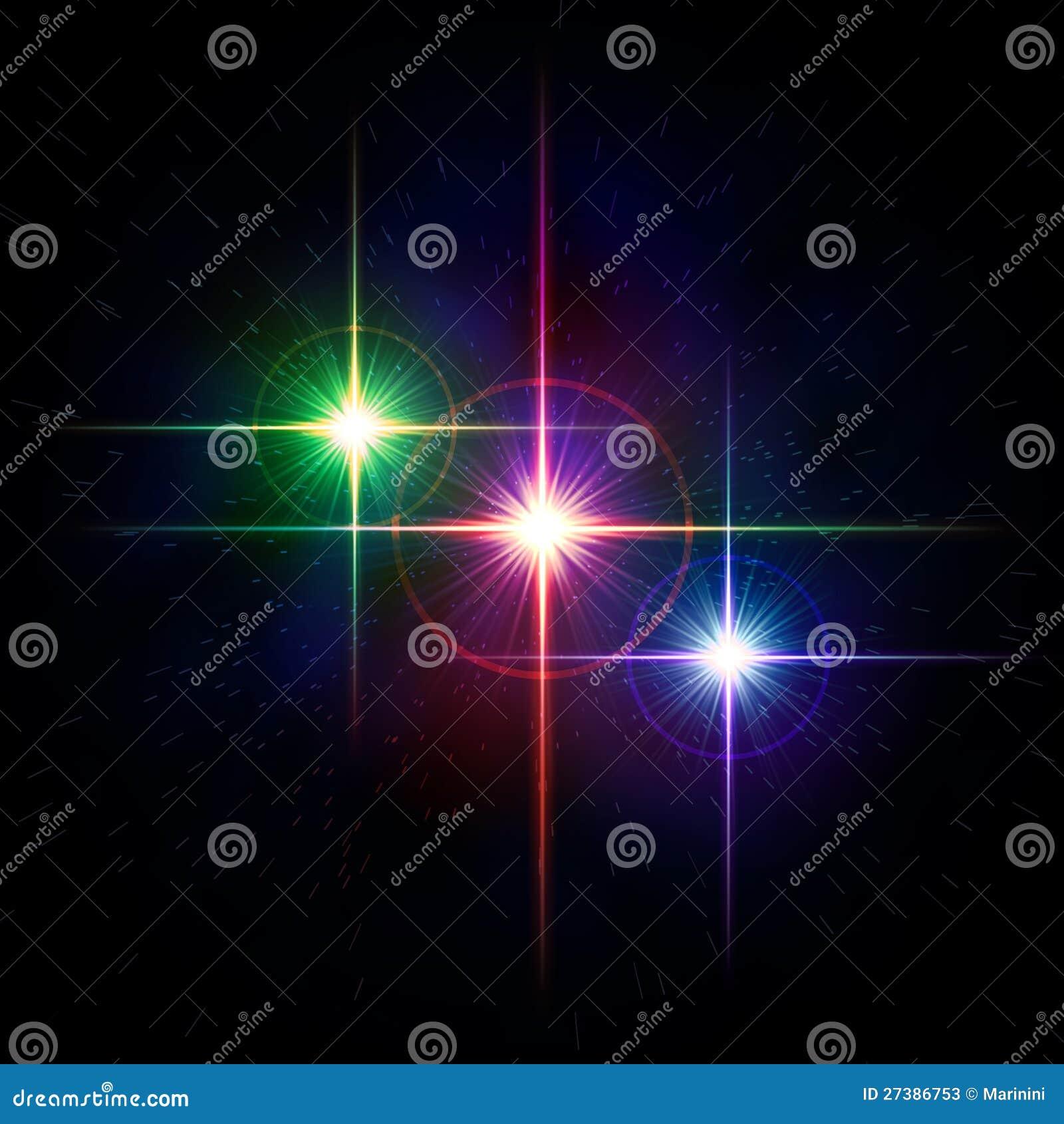 Luces coloridas