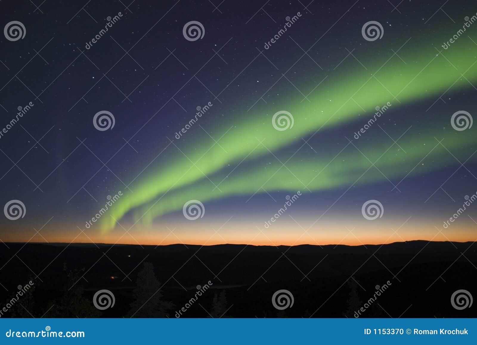 Luces crepusculares y norteñas