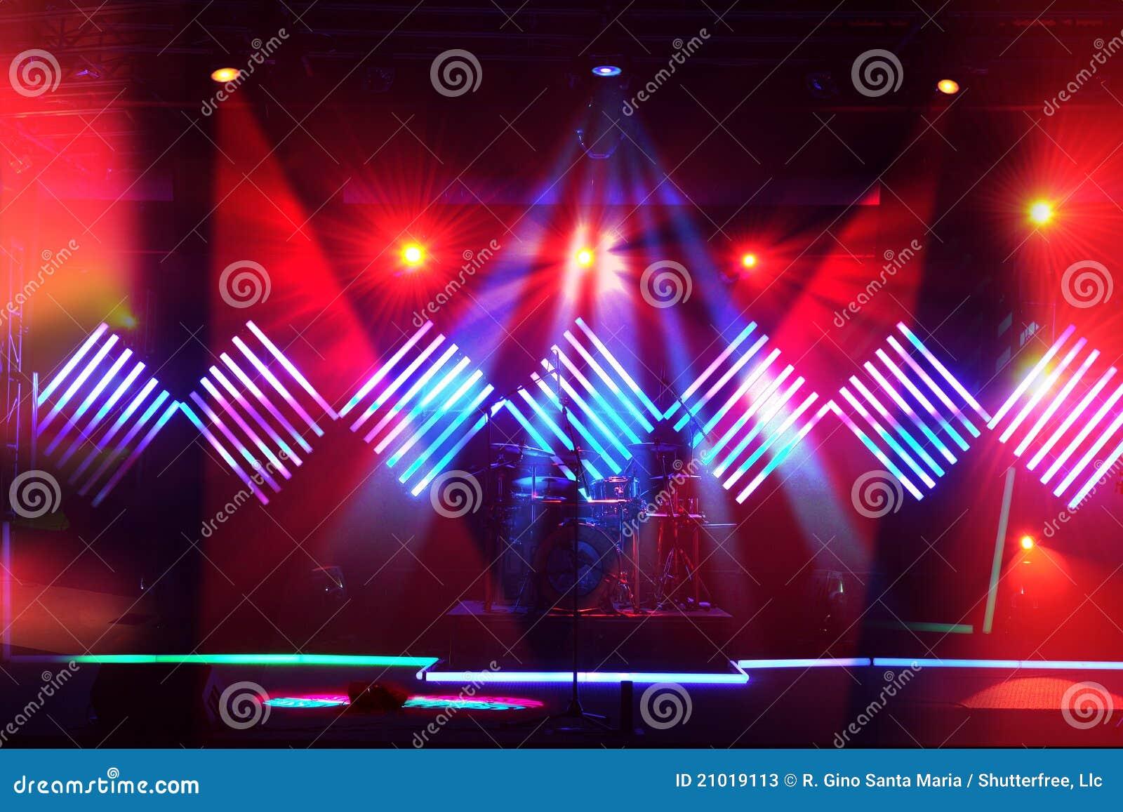 Luces de la etapa con diseño del LED