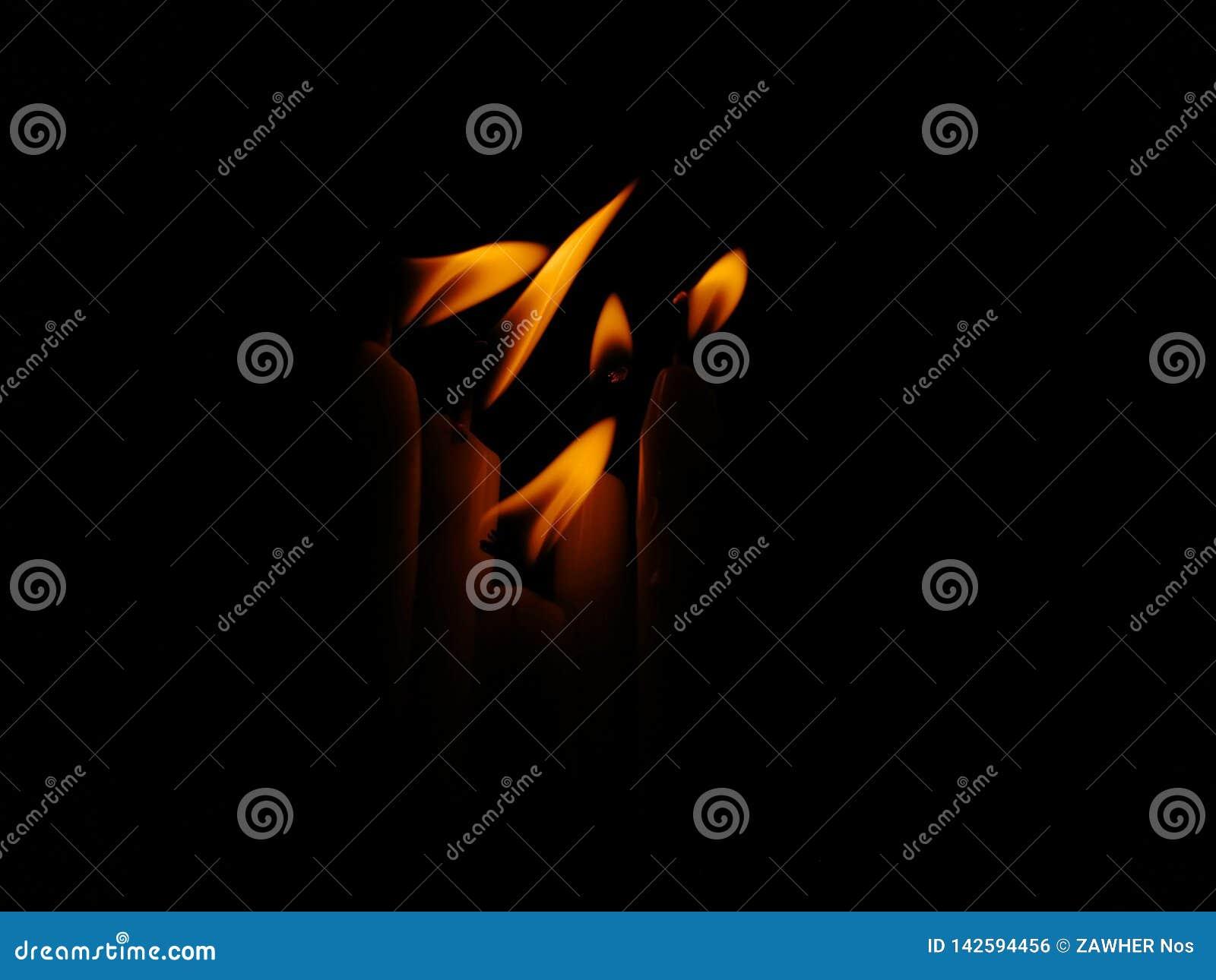 Luces de la vela