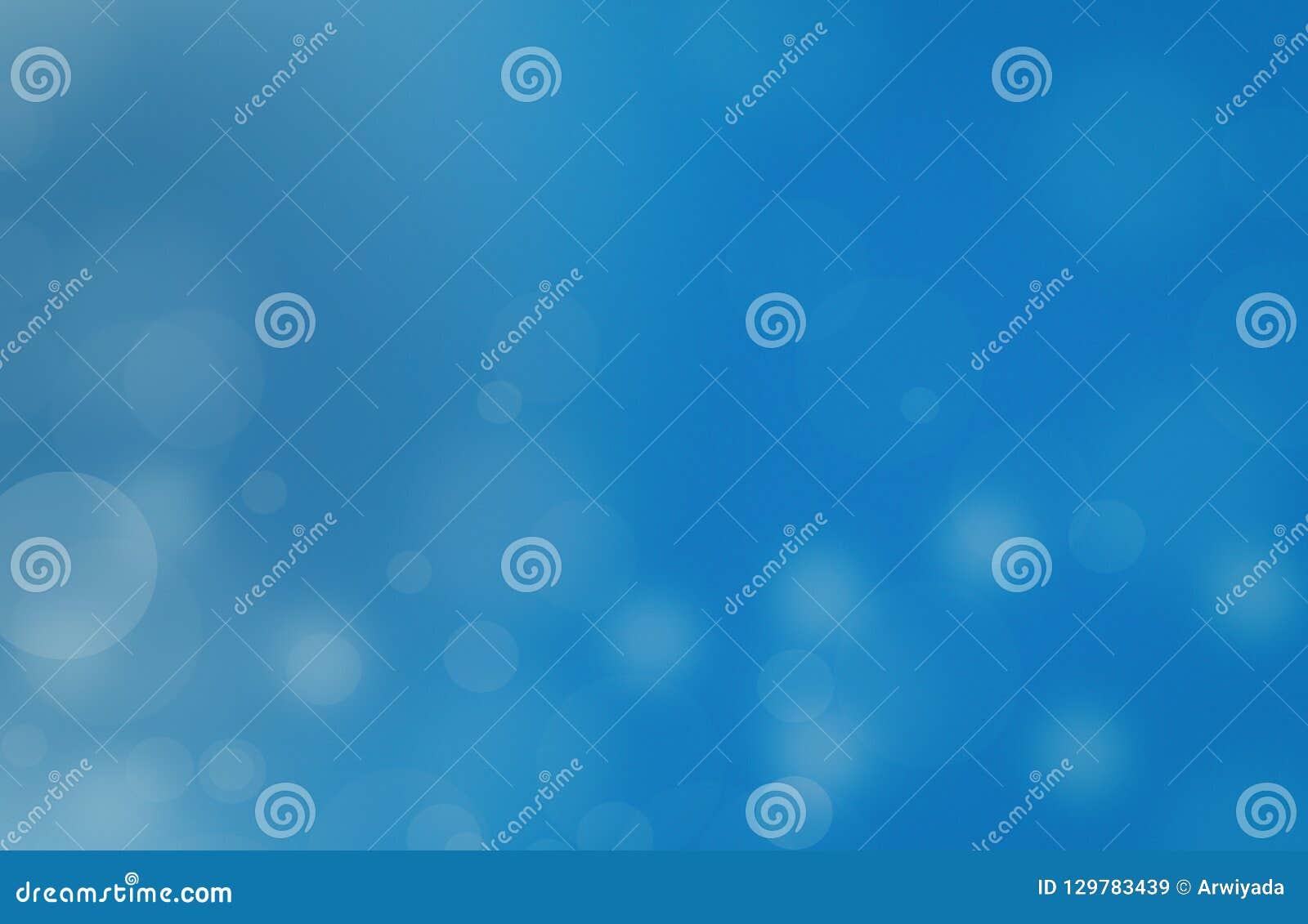 Luces en textura azul de background El extracto del Año Nuevo del día de fiesta brilla fondo Defocused con las estrellas y las ch