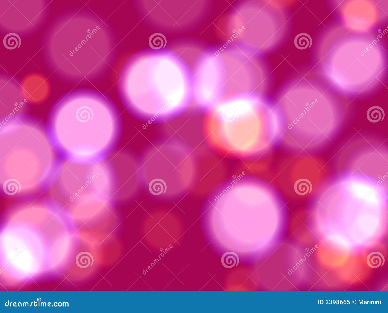 Luces rosadas