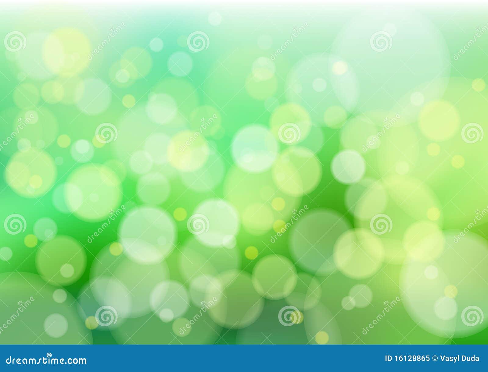 Luces verdes del defocus foto de archivo libre de regal as for Luces verdes para jardin