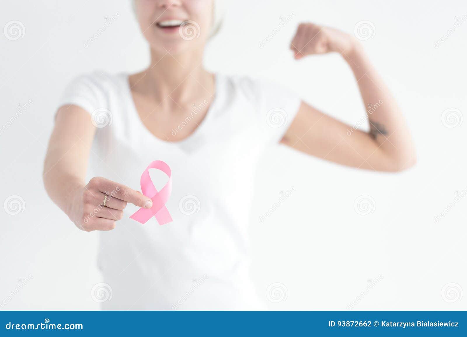 Lucha con el cáncer de pecho