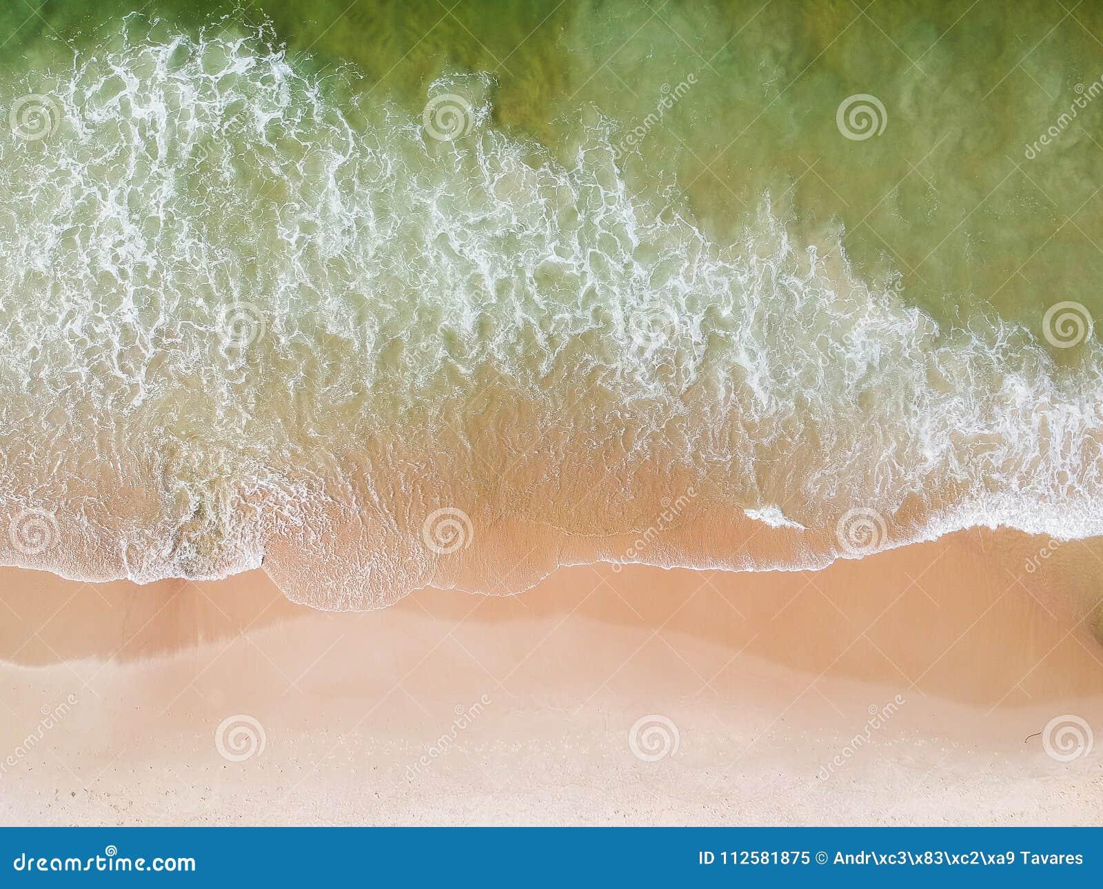 Lucht het strandmening van hommelleblon, Rio de Janeiro