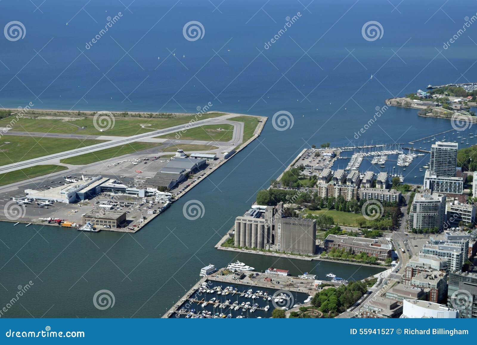 Luchthaven, Haven en Meer Ontario, Toronto, Canada