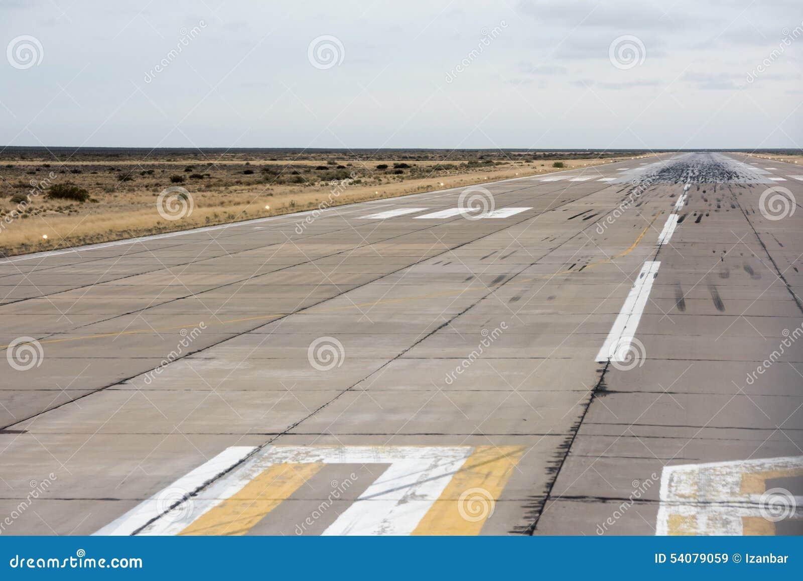 Luchthaven het Landen en startstreek