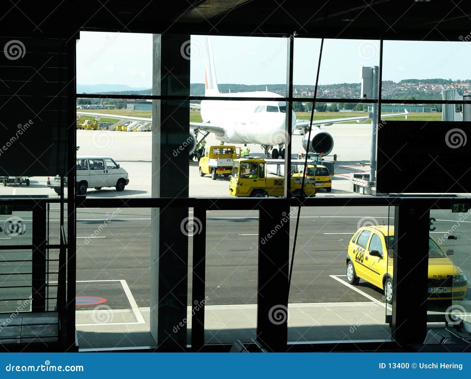 Luchthaven scène