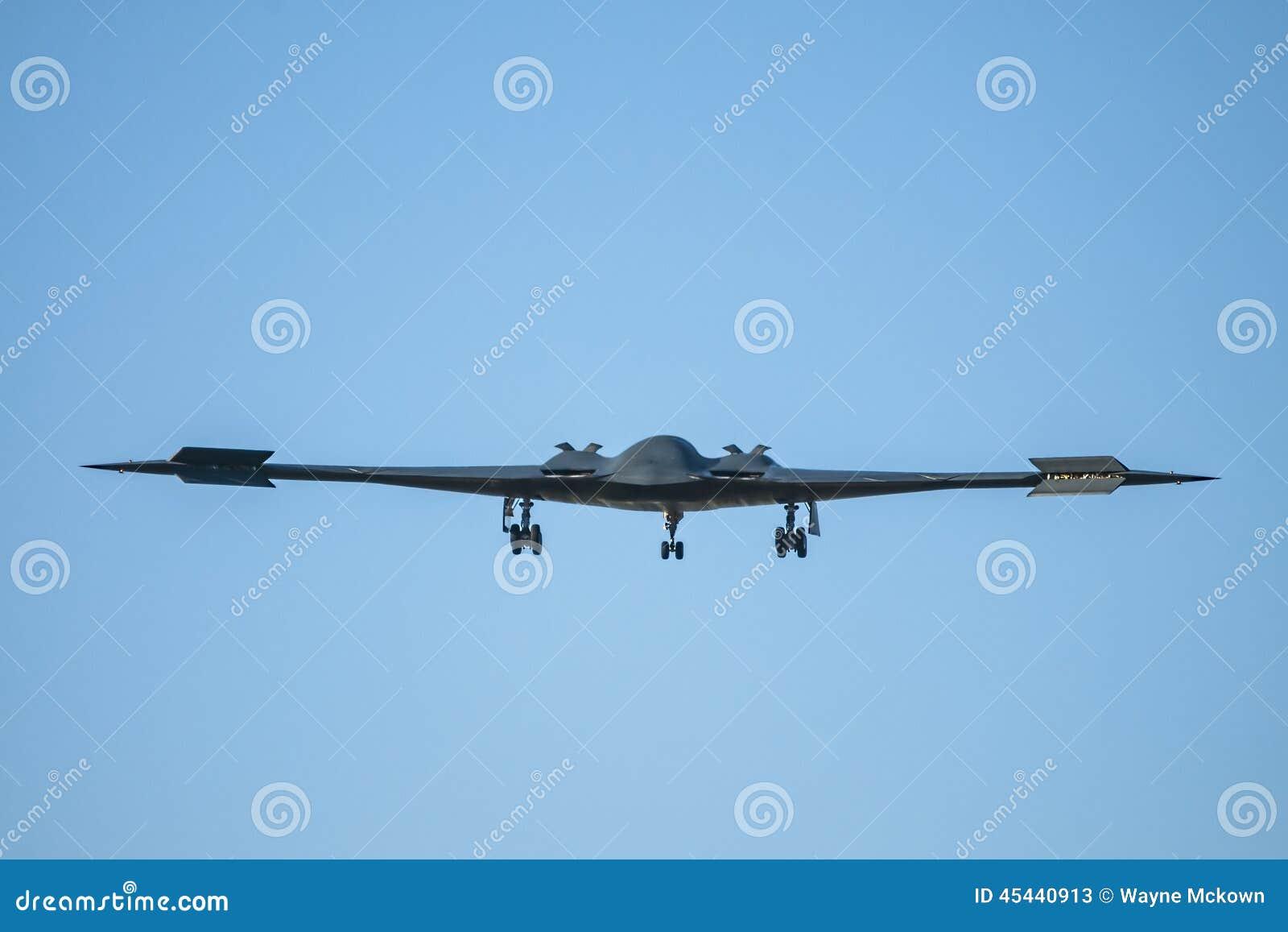 Luchtmacht B-2 van Verenigde Staten Heimelijkheidsbommenwerper