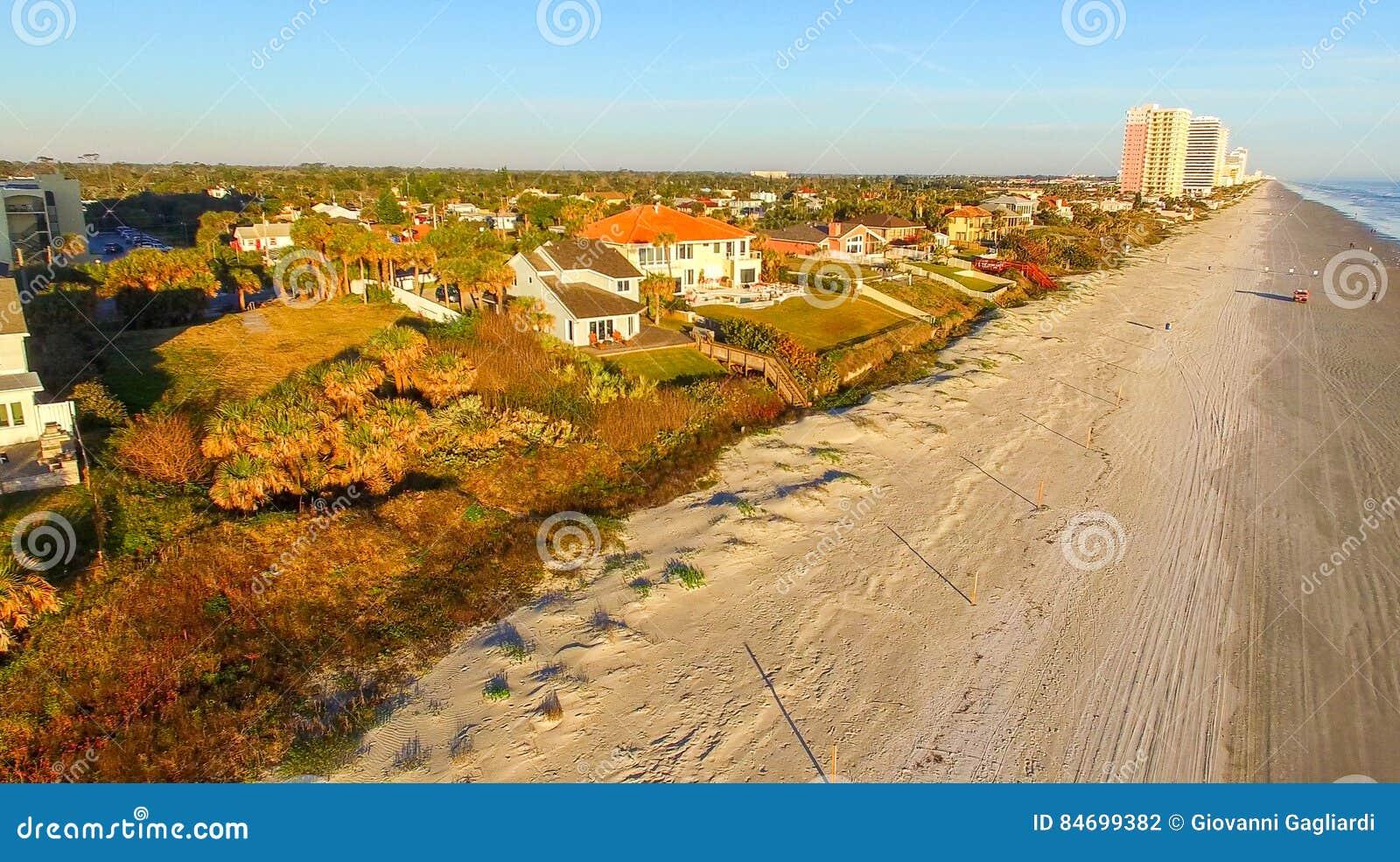 Luchtmening van Daytona Beach, Florida