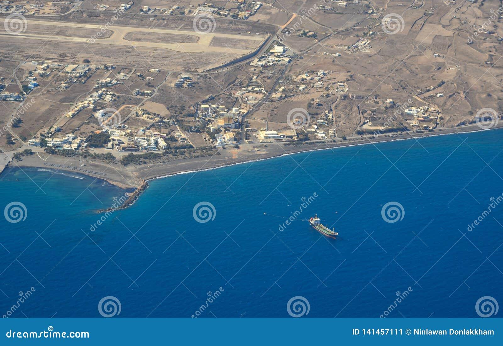 Luchtmening van kleine eilanden