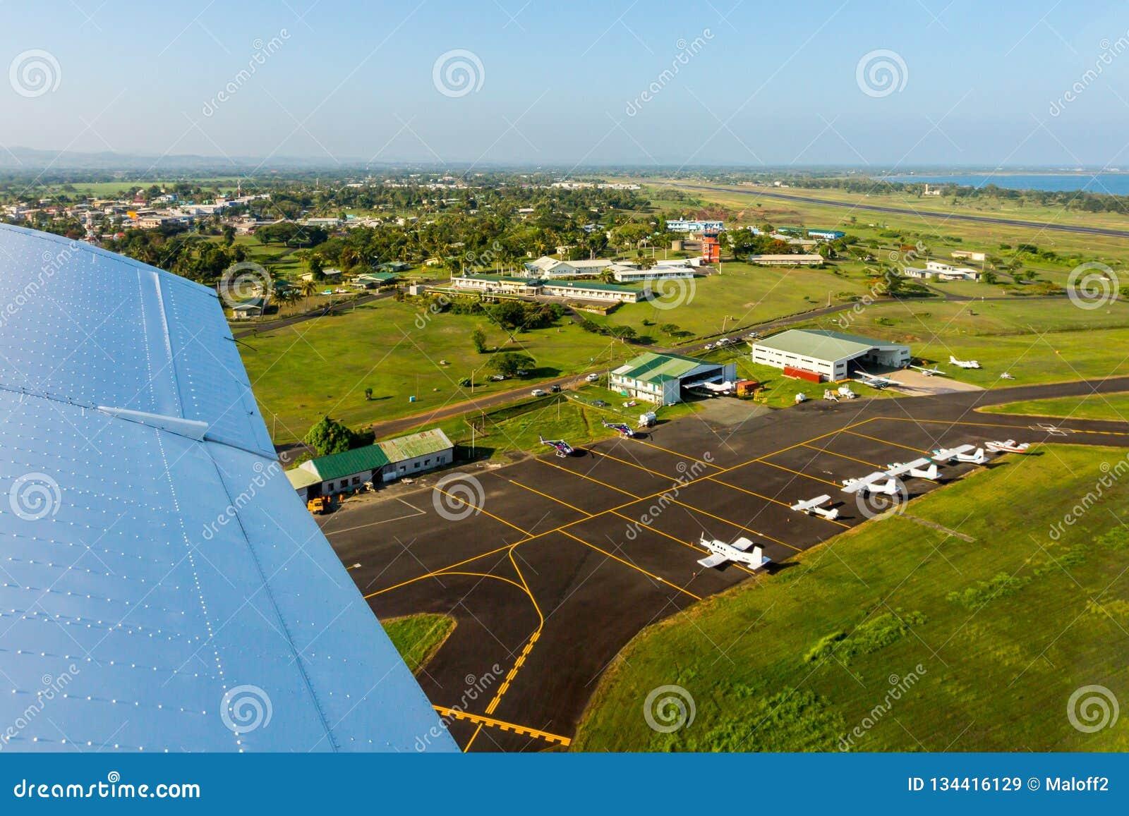 Luchtreis in Fiji, Melanesia, Oceanië E