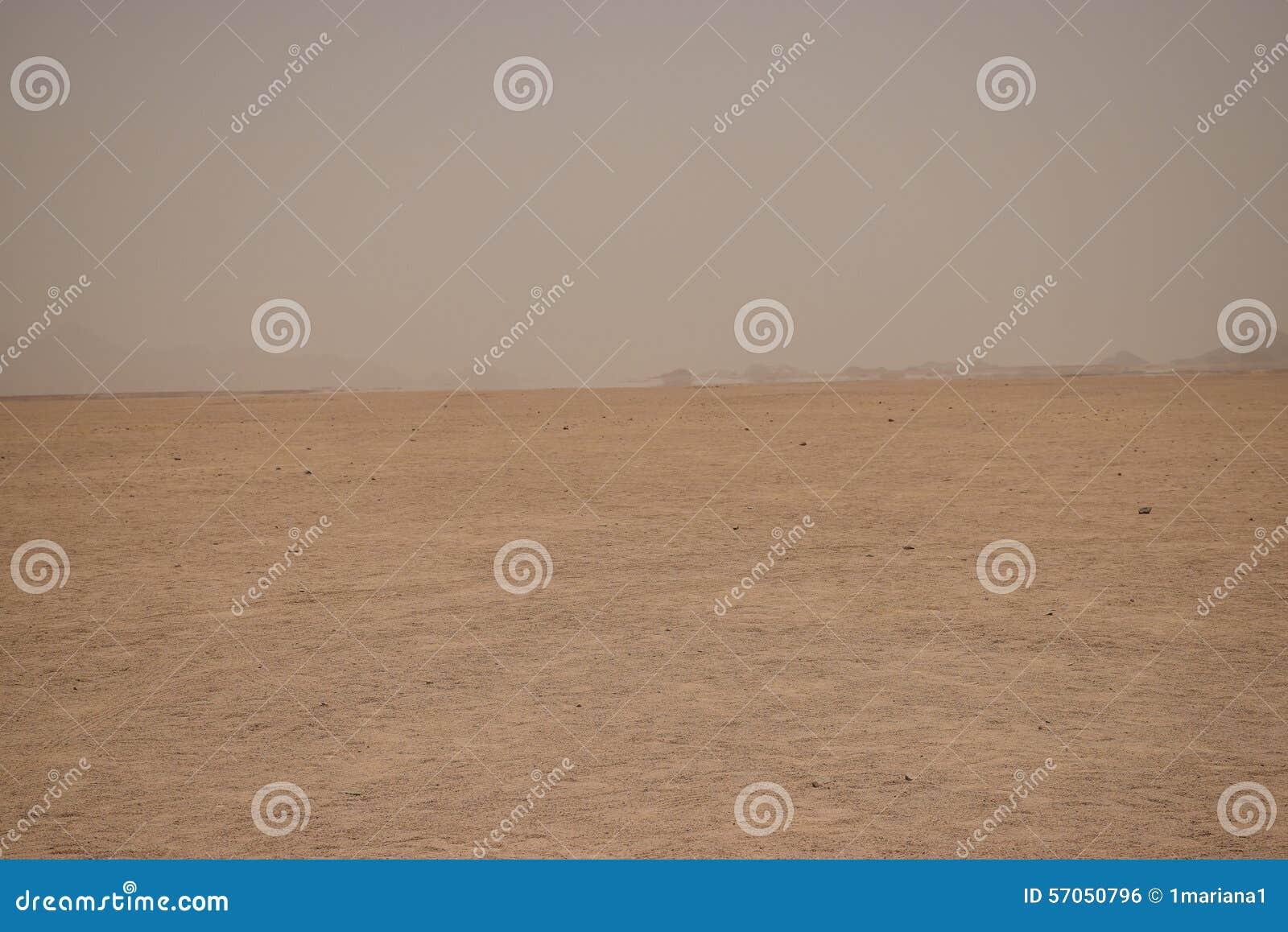 Luchtspiegeling in de woestijn