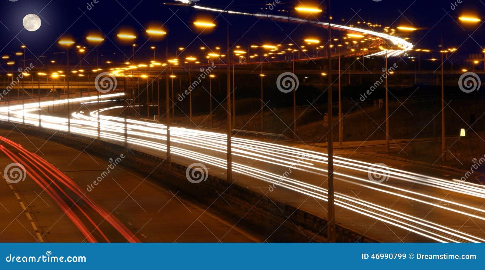 Luci dell autostrada