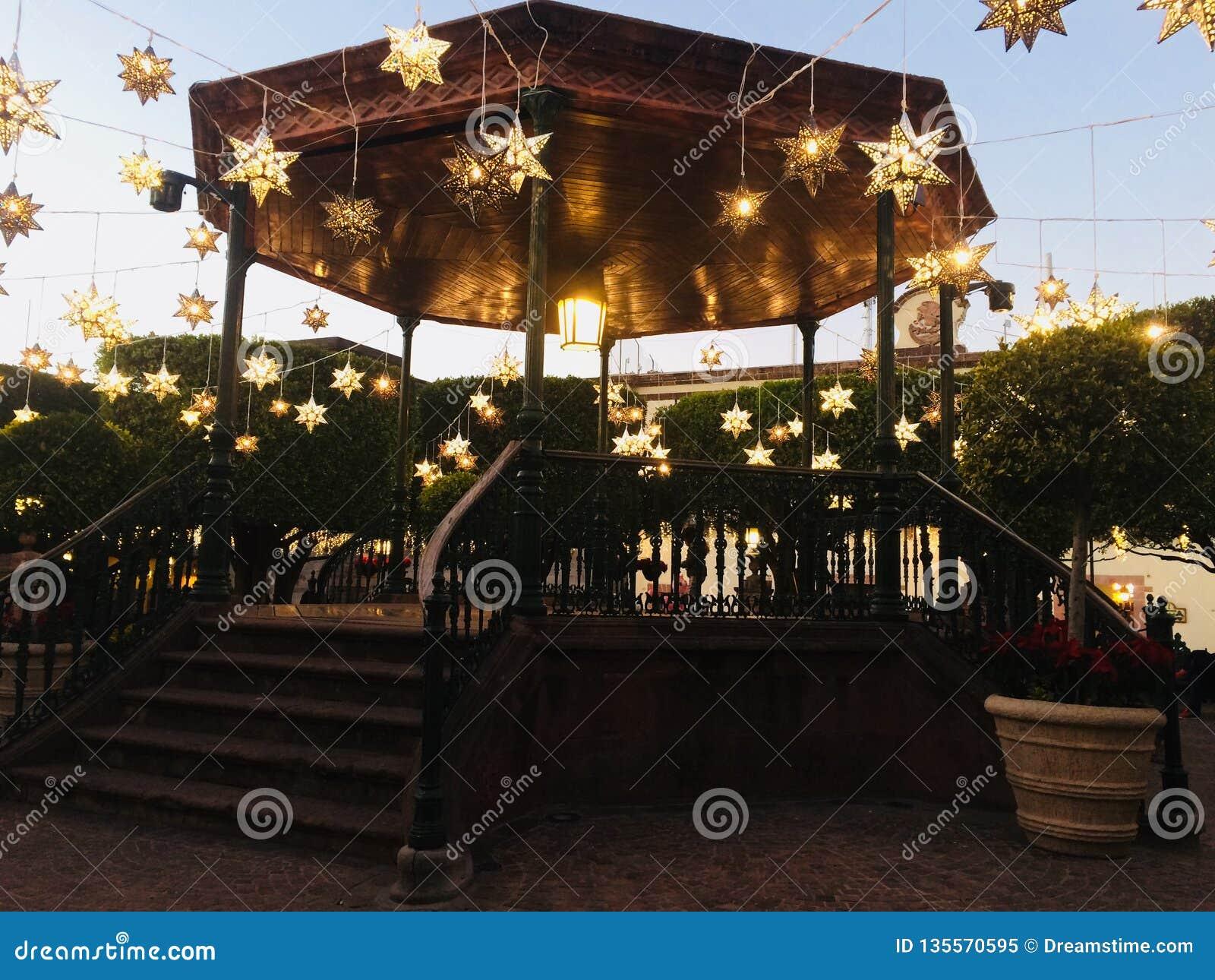 Luci stellari in San Miguel de Allende