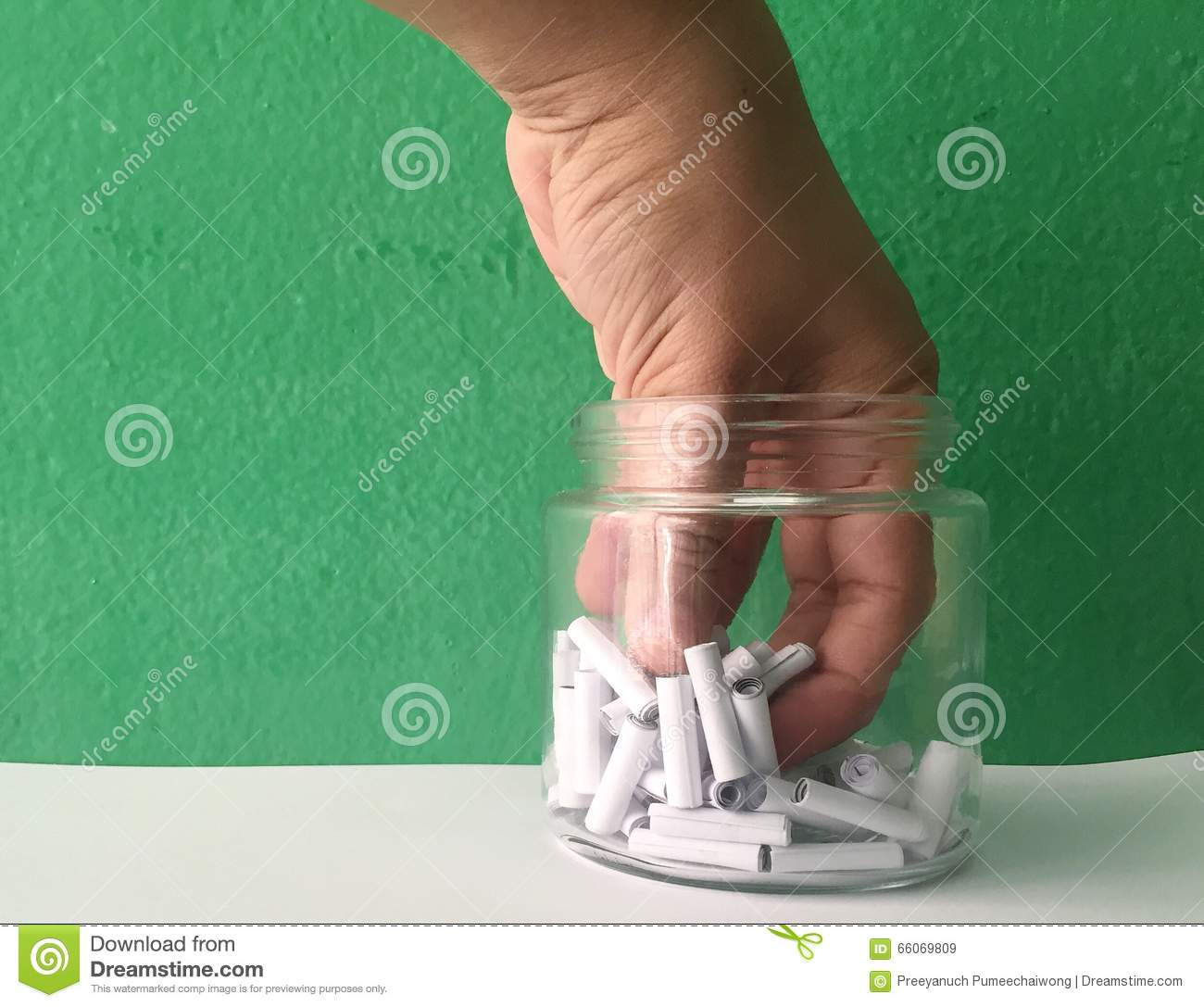 Lucky draw stock image  Image of paper, bottle, chance