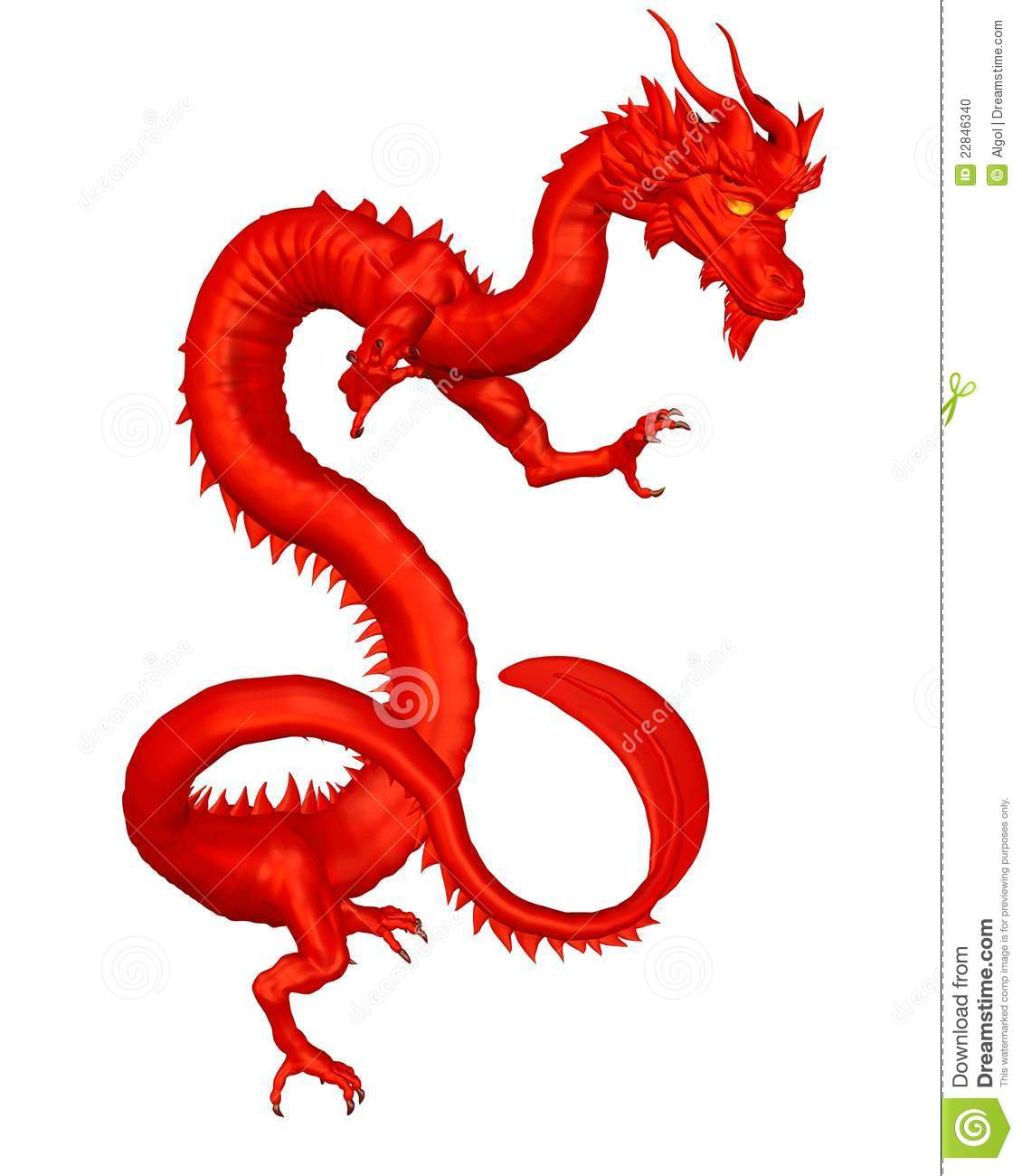 Lucky red chinese dragon stock illustration illustration of lucky red chinese dragon biocorpaavc