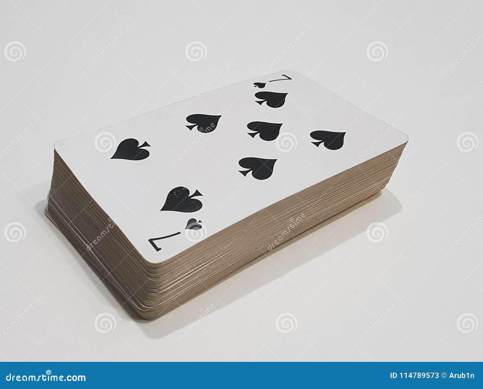 Lucky seven card
